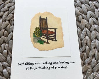 Thinking of You Rocking Chair