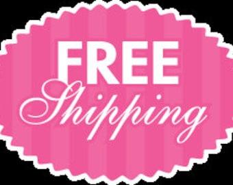 FREE SHIPPING CODE !! Please Read Description !!