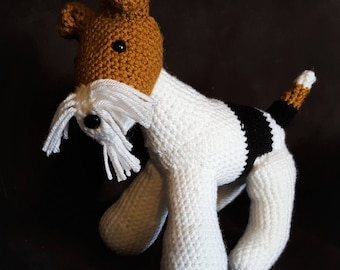 Wire Fox Terrier Pattern