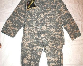 Genuine Us Army Acu Digital Camouflage Nomex Free EWOL Set - Small Short