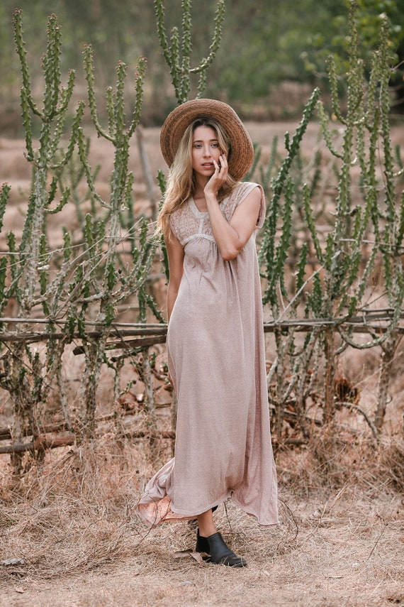 Women Dress Bohemian Shipibo Sleeveless Goddess Summer Maxi Dress Gypsy Dress Tribal Clothing Boho Ayahuasca xfnwq47Xw