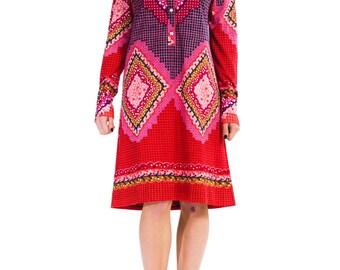 1960s Vintage Mod Dress  Size: XS/S