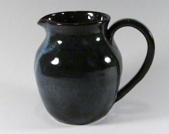 Ceramic Pitcher- Sauce Boat- Serving Pitcher- Handmade Pitcher- Stoneware Pitcher- Pottery Jug- Syrup Pitcher- Gravy Pitcher- Pitcher- Jug