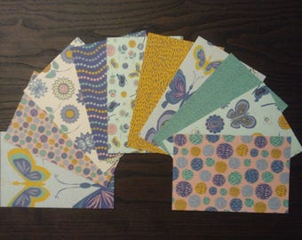 Wonderland Cardstock, 4x6 Card Fronts, 4x6 Cardstock, Butterfly Pocket Page Cards, 4x6 Cardstock, Patterned Paper, Flower Paper, Bee Paper