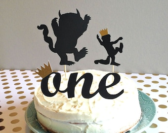 Where The Wild Things Are Cake Topper Wild One Buffet First