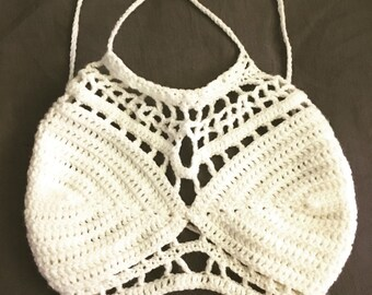 BLAINE CROCHET TOP