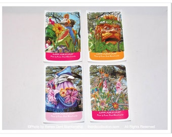 Mardi Gras Floats Stickers