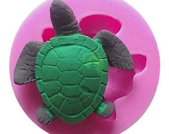 Turtle Silicone Mold Candy Chocolate Soap Ice Crayon Candle Fondant Baking Supplies Jenuine Crafts