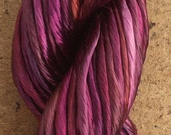 Thick Rayon Floss, No. 17 Ruby, Viscose Floss, 9 Strand Viscose Floss, Embroidery Thread, Braidmaking, Kumihimo