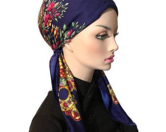 Cotton Square scarf / wrap / tickets /head covering