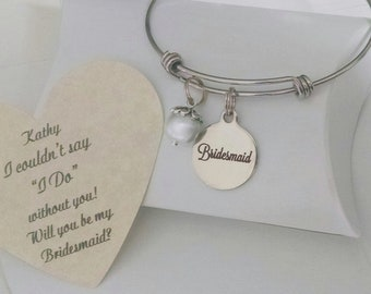 Bridesmaid Bracelet, Will You Be My Bridesmaid, I Couldn't  Say I Do Without You, Be My Bridesmaid, Bridesmaid Ask, Beach Wedding