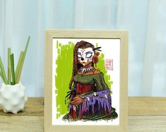 Voodoo Priestess Print
