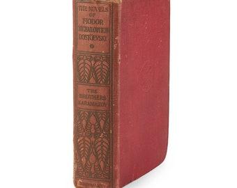 The Brothers Karamazov - First 1st Edition 1912 - Fyodor Dostoevsky - Exceptionally Rare