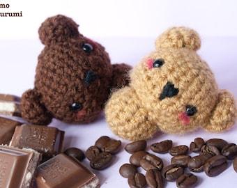 Orsetto - Kawaii - Plush - Pupazzi - Morbido - Uncinetto - Crochet
