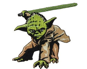 Disney Star Wars Yoda Jedi Master Patch Officially Licensed Iron On Applique