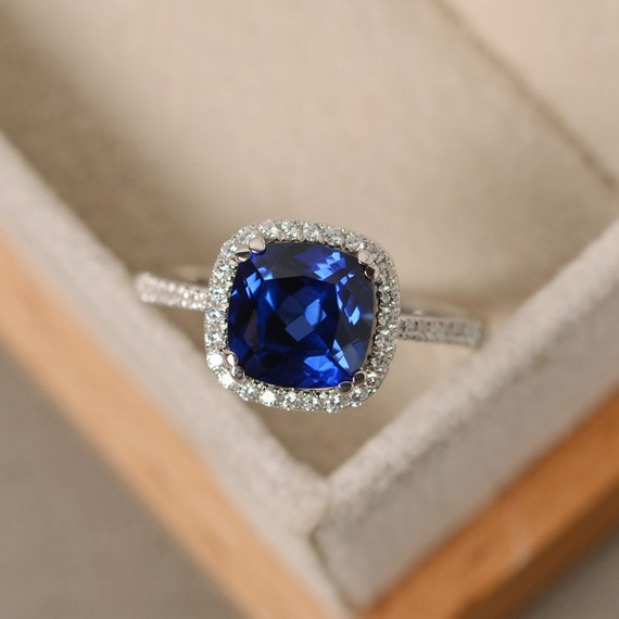 Sapphire Engagement Ring Au