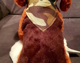 Pet bandana/ camouflage bandana / pet camouflage banada/ army pets/ cat dog bandana