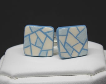 Blue cuff - links
