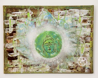 Green Buddha Art