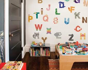Alphabet - Peel and Stick Wall Sticker