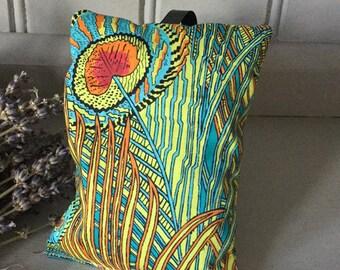 Lavender Pillow in Liberty Print
