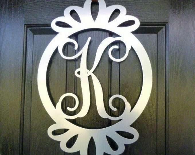 Front Door Wreath Door Decorations Monogram Door Hanger monogram door hanger monogram : door monogram - pezcame.com