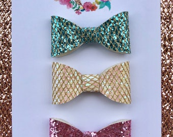 Three bow set *Easter Collection *