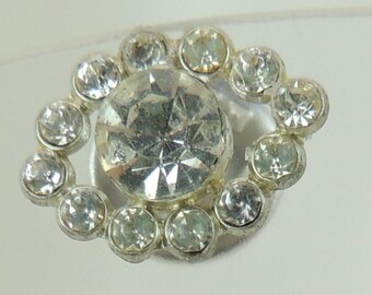 Vintage Refurbished Rhinestone Pin