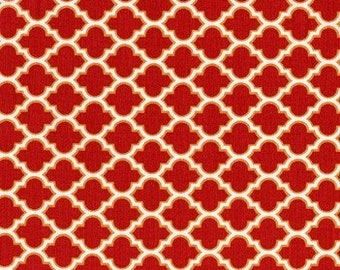Deer Valley - Lodge Lattice Peony designed by Joel Dewberry for Free Spirit Fabrics - 3.5 continuous Yards at Great Price