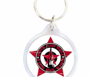 Rock And Roll Keychain - Keychain