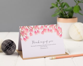 Thinking of You Greeting Card, Encouragement Card, Christian Cards