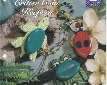 Plastic Canvas Patterns,Critter Coin Keepers,Ladybug Coin Purse,Frog Coin Purse,Turtle Coin Holder