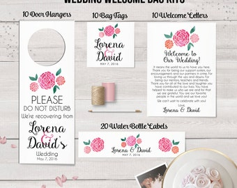 View Welcome Bag Kits by DesignedByME on Etsy