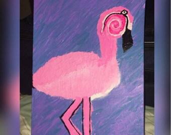 La Flamingo by Riahchuu Original  one of a kind