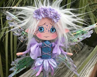 Fairy Pixie Fantasy Clothespin OOAK Art Doll