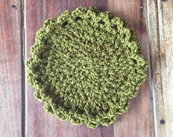 Trivet 100% pure wool - crochet