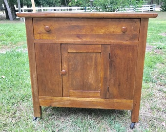 Antique Wash Stand, Wood,