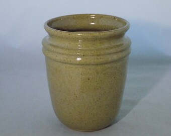 Large Pottery Crock-Small Ceramic Crock-Home Decor-Crock-Decorative Crock-Cottonwood Creek-Elizabeth Gebert- Johnson House