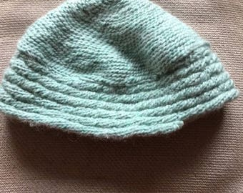 women's knitted hat.