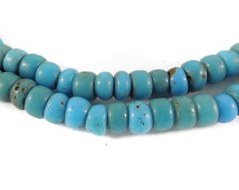 Turquoise Glass Trade Beads Bohemian Africa 119706