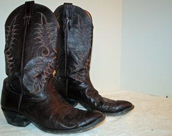 Nocona Men's Cowboy Boots...Vintage