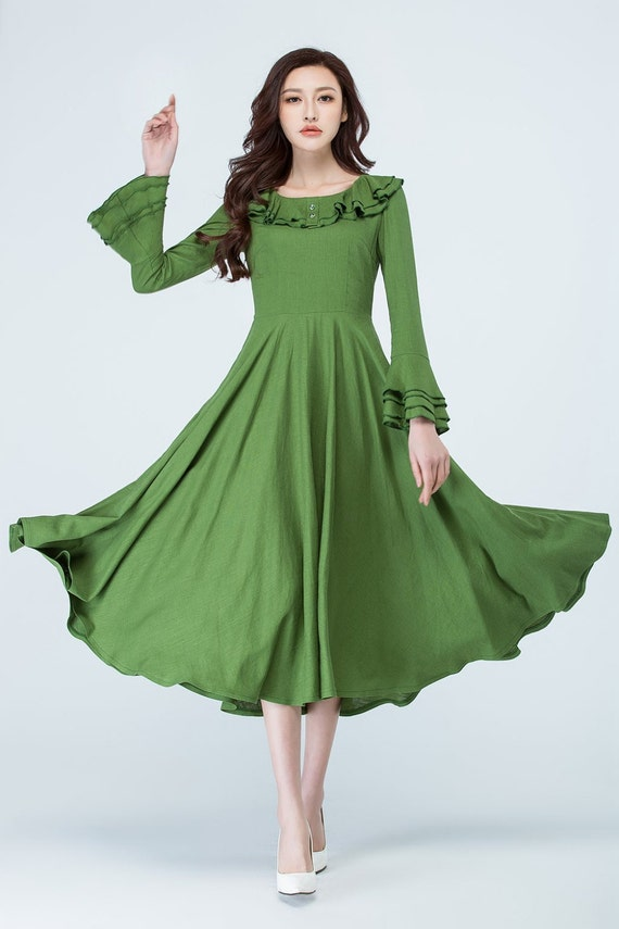 Tea Length Sundresses for Women