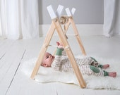 White Baby Activity Gym - White Play Gym