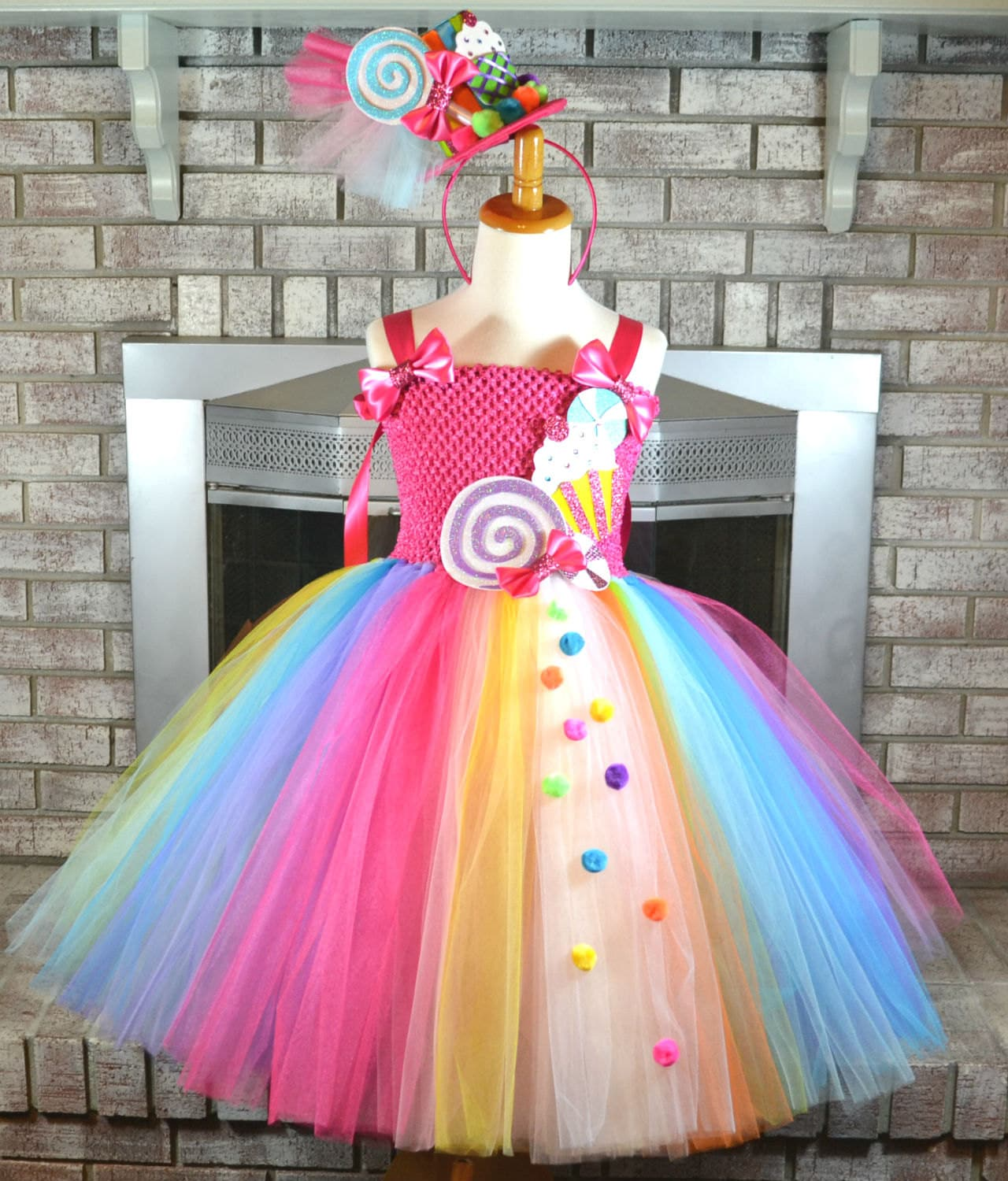 Candy Shop Tutu Candy Dress Sweet Shop Outfit Candy - photo #1
