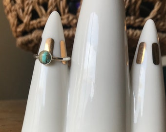 Royston Turquoise stacker ring-Size 5