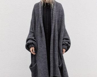 cardigan sweaters for women / oversized knit sweater / chunky knit sweater / sweater coat / womens clothing / cardigan women