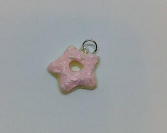 Pink Doughnut Star