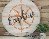 Explore Large Round Sign...