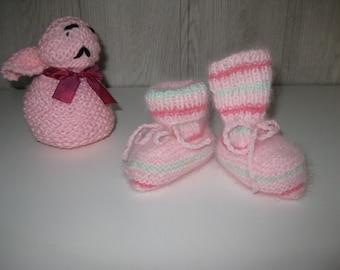angora wool socks slippers