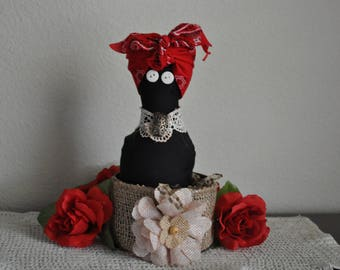 Valentines  Doll/Pincushin